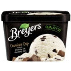 I'm learning all about Breyers Ice Cream All Natural Chocolate Chip at @Influenster!