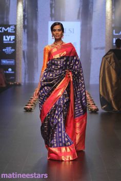 Models Walks For Santosh Parekh At Lakme Fashion Week Winter Festive 2016 - Hot Models Photo Gallery - High Resolution Pictures 9