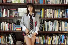 Ai Shinozaki at the library - How can ANYONE focus on reading with this bombshell beauty around?