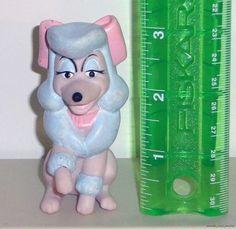 Georgette Disney McDonald's 1988 Oliver & Co. Soft Rubber Finger Puppet Lse