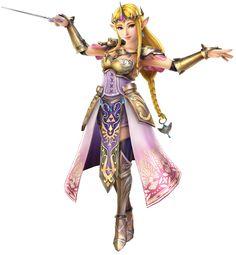 Zelda & Wand | Hyrule Warriors | The Legend of Zelda, Princess Zelda