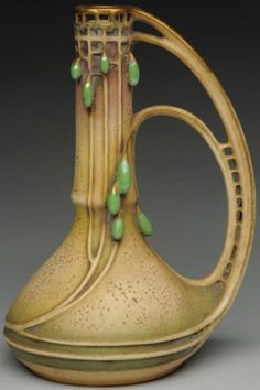 One of Paul Dachsel's Designs for His Own Amphora Company - - Photo Courtesy of Morphy Auctions