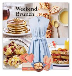 """""""Weekend Brunch"""" by kimzarad1 ❤ liked on Polyvore featuring Chicwish, Melie Bianco, Bamboo and Kate Spade"""