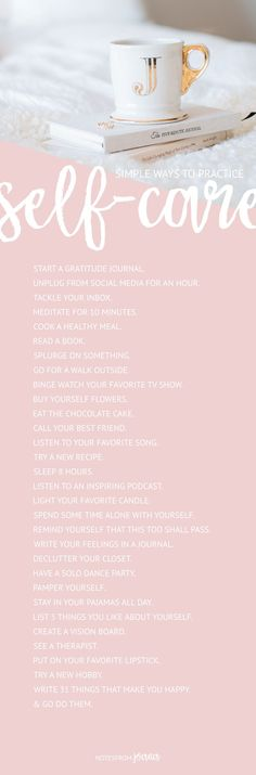 31 Small Ways To Make Self-Care A Daily Practice   Self-care activities that will improve your wellbeing. Click through to read more or pin for later!
