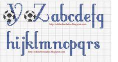 Xstitch alphabet