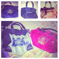 Inlove with my Juicy Couture bags ;))