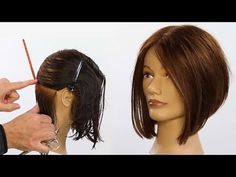 """It can not be repeated enough, bob is one of the most versatile looks ever. We wear with style the French """"bob"""", a classic that gives your appearance a little je-ne-sais-quoi. Here is """"bob"""" Despite its unpretentious… Continue Reading → Graduated Bob Haircuts, Angled Bob Haircuts, Bob Haircuts For Women, Medium Bob Hairstyles, Layered Haircuts, Line Bob Haircut, Bob Haircut With Bangs, Medium Hair Cuts, Short Hair Cuts"""