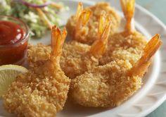 Easy Fried Butterflied Shrimp