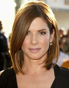 long bob: I might give this a try when my hair gets longer.