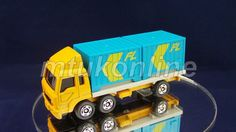 TOMICA 074E MITSUBISHI FUSO CONTAINER TRUCK   1/102   JAPAN   074E-3   EARLY BOX Container Truck, Old Models, Diecast, Auction, Ford, Delivery, Trucks, Japan, Ebay
