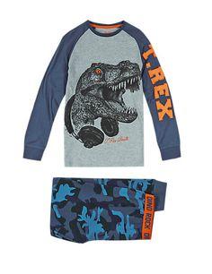 Niñas Niños Ex M/&S Verano Pijamas Conjunto Pantalón Corto y Camiseta Ropa de dormir ropa de dormir