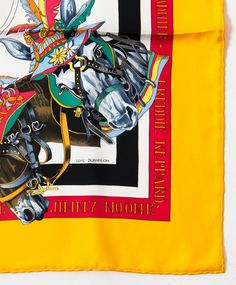 Hermes Silk multicolour the original new orleans creole jazz Carré Scarf | From a collection of rare vintage scarves at http://www.1stdibs.com/fashion/accessories/scarves/