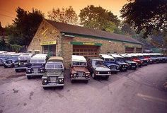 Amazing Land Rover Lineup