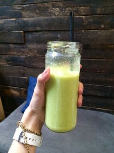 Avocado smoothie is so yummy and healthy!
