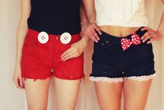 dirty Rotten Vintage + Disneybound disney inspired shorts! i love it <3