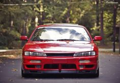 Nissan 240SX S14  love the oem bumper and lip combo