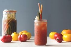 classic.bloody.mary.recipe.heirloom.tomatoes from Honestly YUM blog