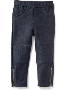 Moto-style leggings from Old Navy.