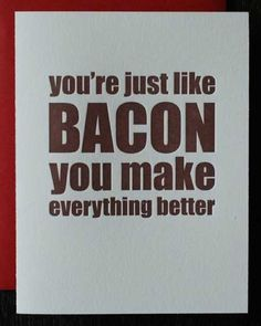Awww, I don't know what to say <3. #Bacon, #HamIAm, #BaconoftheMonthClub