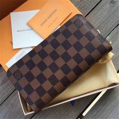 438faa4fccf0 sm Authentic LOUIS VUITTON sm Damier Canvas Zippy Wallet Zip Around purse   fashion  clothing