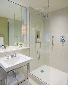 INTERIOR DESIGN ∙ Hotels ∙ Dormy House - Todhunter EarleTodhunter Earle  -  shower