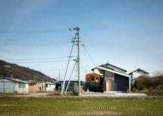 Takanobu Kishimoto's Platform is a home built around a train carriage.