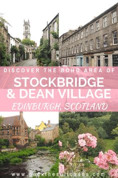 Location ideas for wedding proposal photography shoots in Edinburgh, Scotland. Dean Village and Stockbridge. Scotland Vacation, Scotland Travel, Ireland Travel, England And Scotland, Edinburgh Scotland, Edinburgh Travel, Visit Edinburgh, Ireland Places To Visit, Places To Go