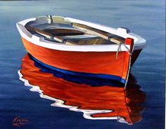 boat reflection - Google Search