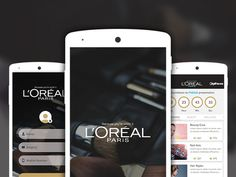 Portfolio | Beauty by Design - L'Oreal #design @pinterest @dribbble