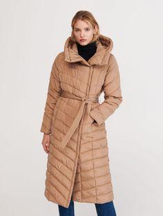 Długi pikowany płaszcz, RESERVED, WU571-80X Long A Line, Winter Jackets, This Or That Questions, Coat, Fashion, Psychics, Winter Coats, Moda, Sewing Coat