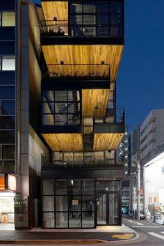 japan-architects.com: 小山光/キー・オペレーションによる「神田テラスビル」