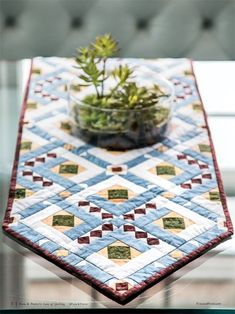 Casablance Table Runner Pattern