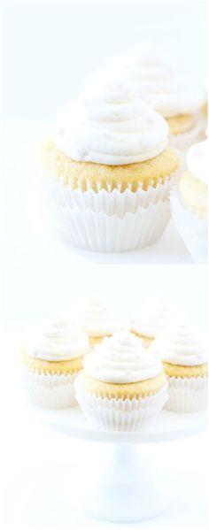 Vanilla Almond Cupca