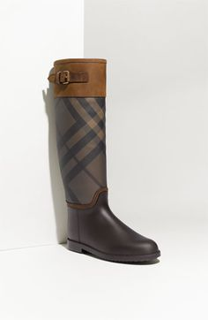 Burberry riding boots not yet released to the general public. I think these are the winners! ;)