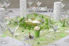 décoration mariage vert et blanc - Recherche Google