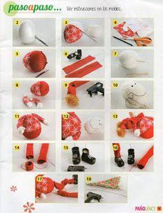 REVISTA PAÑO LENCY FIELTRO NAVIDAD 241 Maya, Christmas Crafts, Art Journals, Christmas Art, Noel, Maya Civilization