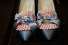 Marie Antoinette - blue pumps