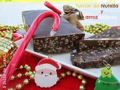 Turrón de Nutella y arroz inflado