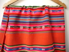 Tribal Fabric South American Aguayo Woven Textiles