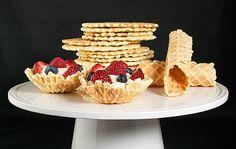 Хрустящие вафельные трубочки (Пицелли) с кремом. Плюс немного истории! | Blog Loravo: Кулинарные записки дизайнера