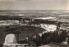 Oslo. Utsikt fra Holmenkollbakken  Utg Abels kunstforlag brukt 1954