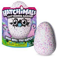 Hatchimals Glittering Garden Hatching Egg – Sparkly Penguala by Spin Master