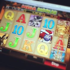 ipad casino slots game of Mega Moolah