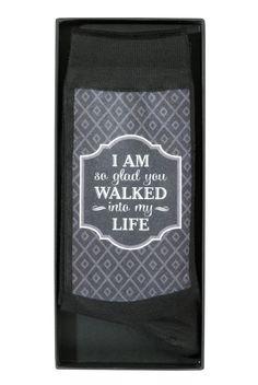 Men's Socks - Walked Into My Life Sock