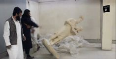 Thousands of years of history destroyed by ISIS with sledgehammers in Iraqi museums in Neneweh province. This hurts!