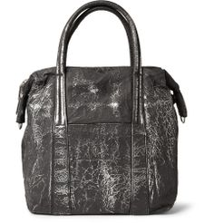 Maison Martin Margiela - Burnished Coated-Aluminium Tote Bag | MR PORTER