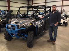 Thank you Barry Rouse from Waycross GA for getting your 2017 Polaris Ranger 1000 Highlifter at Hattiesburg Cycles. #polaris