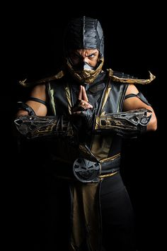 Scorpion from Mortal Kombat by Raul Porras - Comicpalooza 2013 | Flickr - Photo Sharing!