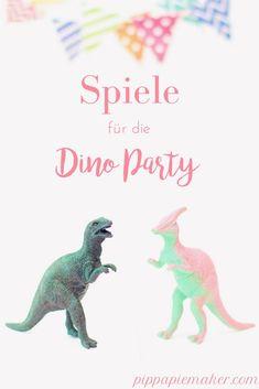 Dinoparty als Kindergeburtstag geplant und noch keine Ahnung wie du die Kinder beschäftigen sollst? Dann habe ich drei tolle Dinosaurier Geburtstagsspiele für dich, die sich super vorbereiten lassen und bei allen kleinen Dino Fans super ankommen!