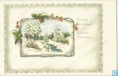 Prettige Kerstdagen Gelukkig Nieuwjaar - 19xx, Netherlands